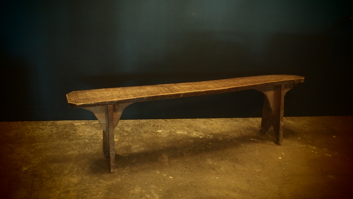 French Wooden Bench