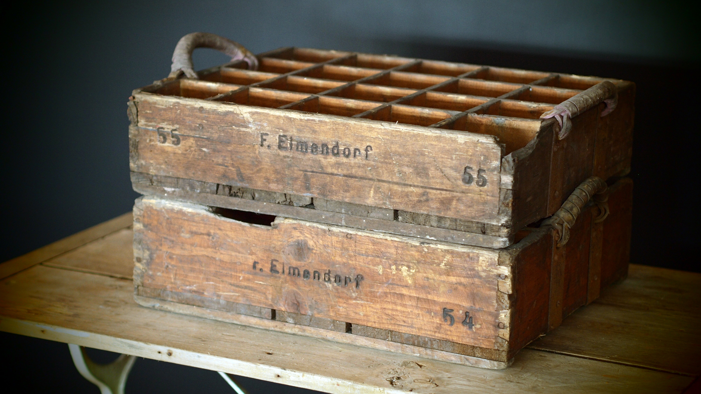 Antique Beer Crate